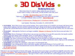 3D Disney Vids (Allen Huffman)