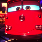 Photo of Fire Engine from Cars at D23 Expo