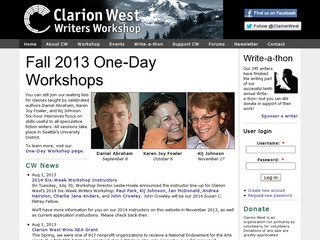 Clarion West: Seattle