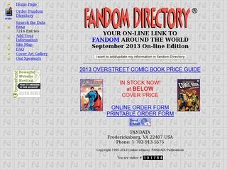 FANDATA's Fandom Directory