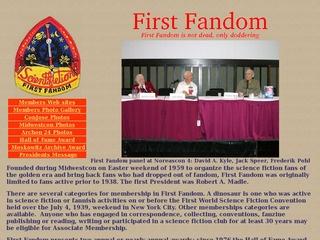 First Fandom Hall of Fame Award