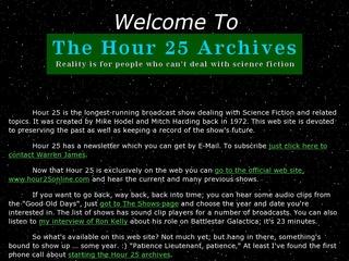 Hour 25