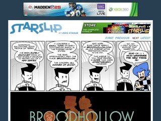 Daily Sci-Fi Humor - Starslip by Kris Straub