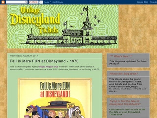 Disneyland 30th Anniversary Tickets